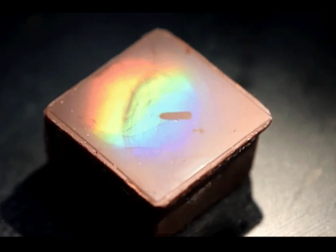 Scientists Create Shimmering Rainbow Chocolate