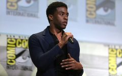 Chadwick Boseman at San Diego's 2016 Comic Con International, Photo Courtesy of Wikimedia Commons