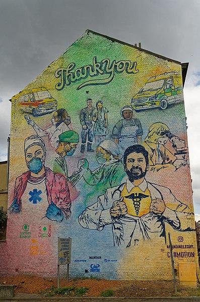 Mural by Amandine Lesay