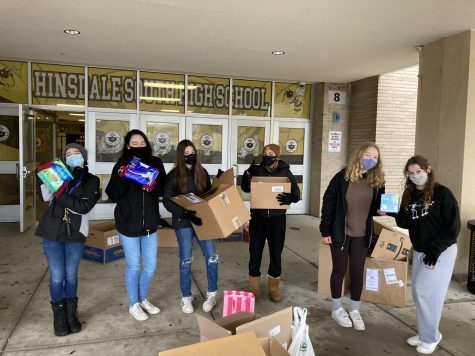 "Hinsdale South's first ""Her Drive"" was met with resounding success."