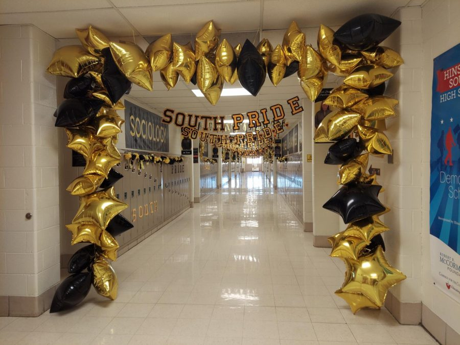 Dress the Halls for Homecoming